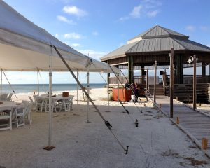 Tent and Gazebo at Lovers Key