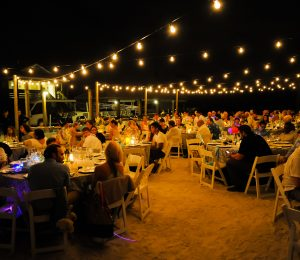 Beach Wedding Night Life