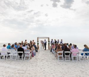 Lovers Key Wedding Ceremony